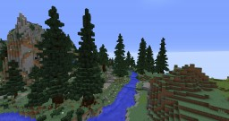 custom spruceforrest Minecraft Map & Project