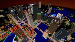 The Selkirk Metatropolis Minecraft Map & Project