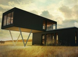 Modern Container Ship House