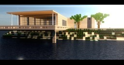 Bouleau | A Modern Beach Home Minecraft