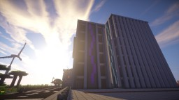 Modern Hotel Towers Minecraft Project