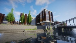 Modern Residential Area Minecraft Project