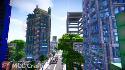 Price Tower Inspired Modernist High Rise Bartlesville, Oklahoma Minecraft Map & Project