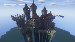 Wiesfiel, a Medieval Fantasy Island Minecraft Map & Project