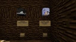 Find the button! Minecraft