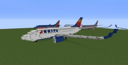[2:1] Boeing 737-700 Minecraft Map & Project