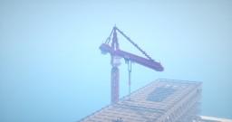 Huge Under Construction Building | Santa Fornia
