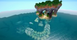 Underwater Redstone House Minecraft Project