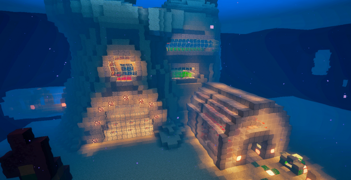 Underwater Redstone House 3876911 on Minecraft House Blueprints