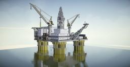 Havilland Oil Company - Oil Platform Minecraft Map & Project