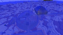 under water secret redstone base Minecraft