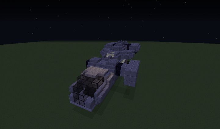 how to make a halo pelican in minecraft