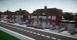 British Town Houses Minecraft Map & Project