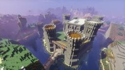 """Massive Stone Castle """"Weißsteinburg"""" Minecraft Map & Project"""