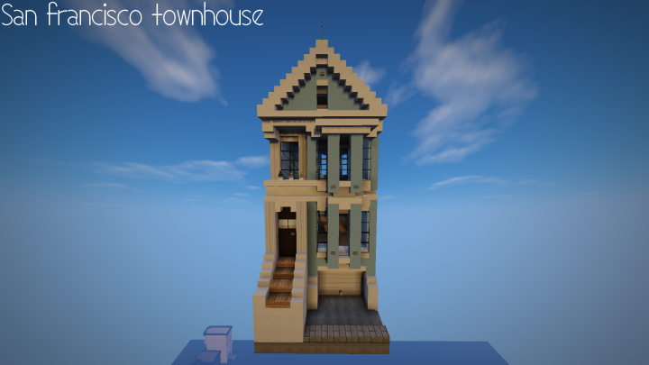 San FranciscoPainted Lady Minecraft Project - Minecraft western hauser
