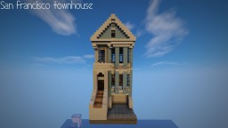 San Francisco-Painted Lady Minecraft Project