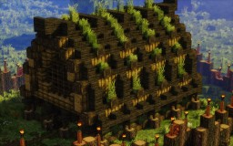 Viking Town Hall Minecraft Map & Project