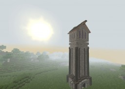 Medival Mage Tower Minecraft Project
