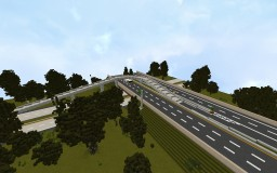 Freeway Directional Ramp Minecraft Map & Project