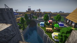 realistic medieval world(more than 5 cities) Minecraft Map & Project