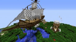 Flying Ship Minecraft Map & Project