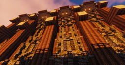 Mega Modular Medieval Wall Minecraft Map & Project