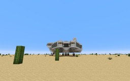 Star Wars Millennium Falcon (Scale 1:1, Highly Detailed) Minecraft Map & Project