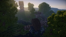 Medieval Series: Lumber/Saw Mill Minecraft Map & Project