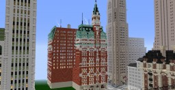The Tribune Building - New York - 1875-1966 Minecraft Project