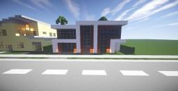 2 Story Modern Beachfront Home - Oakland Minecraft Map & Project