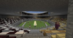 Cricket Stadium Minecraft Project