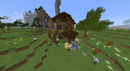 Humble Farmhouse Minecraft Map & Project