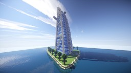 Burj Al Arab Minecraft Map & Project