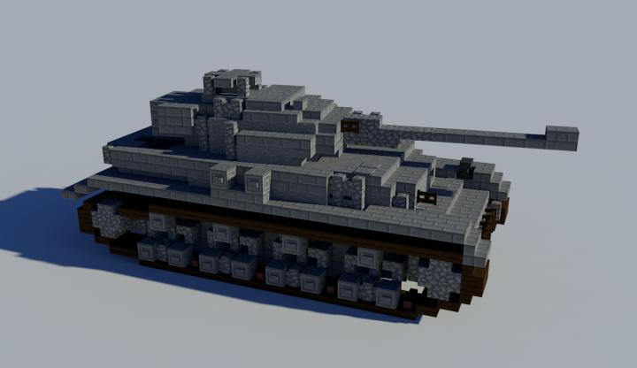 Panzer IV Remake (4:1) Minecraft Project