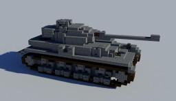 Panzer IV Remake (4:1) Minecraft Map & Project