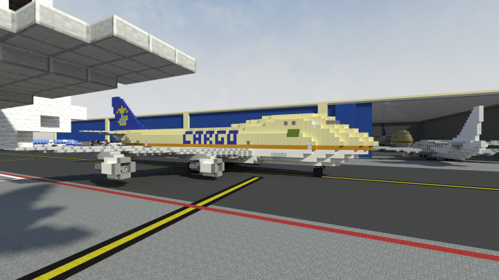 Minecraft boeing 787 [with download] youtube.