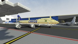 Boeing 747-200F Minecraft Map & Project