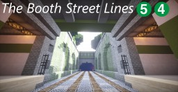 The Booth Street Lines Minecraft Map & Project