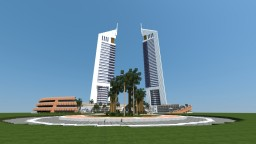 Emirate Towers Dubai Minecraft Map & Project