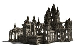 Dhel-Helmdras - Medieval Castle Minecraft Project