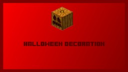 Halloween Decoration Command | Vanilla 1.11.2 Minecraft Map & Project