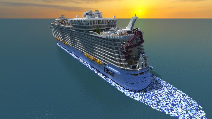 Harmony of the Seas Cruise Ship [Full Interior] {1:1 Scale ...