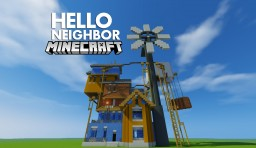 Hello, Neighbor Alpha 3 House Minecraft Map & Project