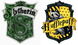 Are Slytherins that much different than Hufflepuffs?