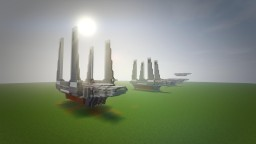 Imperial Cargo Shuttle SW 0608 Star Wars Rogue One Minecraft Project