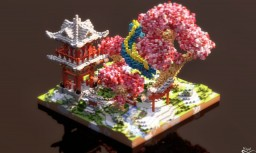 Asian Plot Spawn Minecraft Map & Project