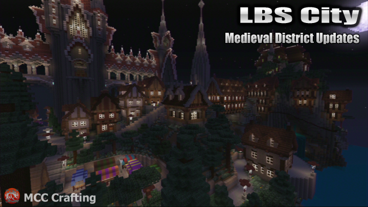 LOS BLOCK SANTOS LBS City Medieval District Update