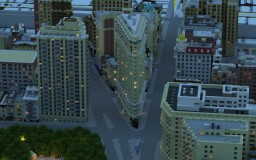 Manhattan in Minecraft- Midtown Manhattan (DOWNLOAD) Minecraft Project
