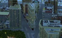 All of Manhattan in Minecraft- Midtown Manhattan