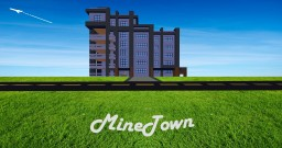 MineTown Minecraft Map & Project